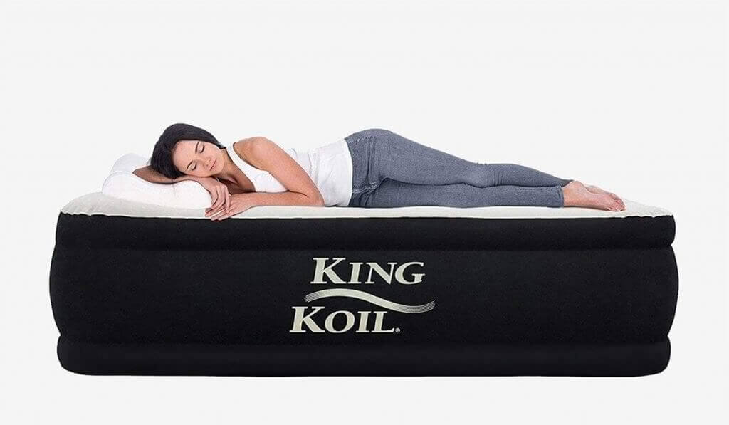 King Koil California King Luxury Raised Air Mattress