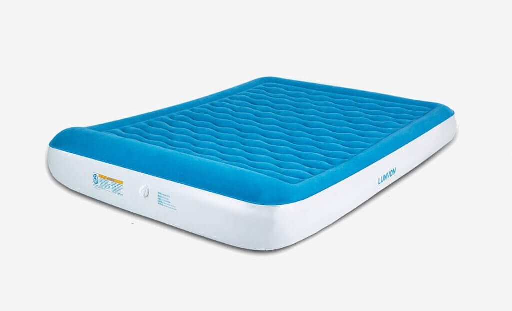 Lunvon Queen Size Self Inflatable Air Mattress