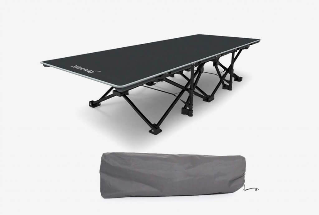 Nice way Oxford Portable Folding Bed Camping Cot with Storage Bag