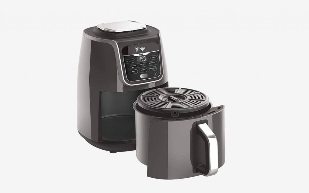 Ninja AF161 5.5-Quart Max XL Air Fryer open