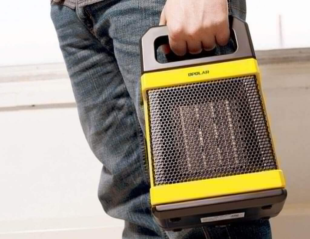 Carrying the OPOLAR 1500W Ceramic Space Heater