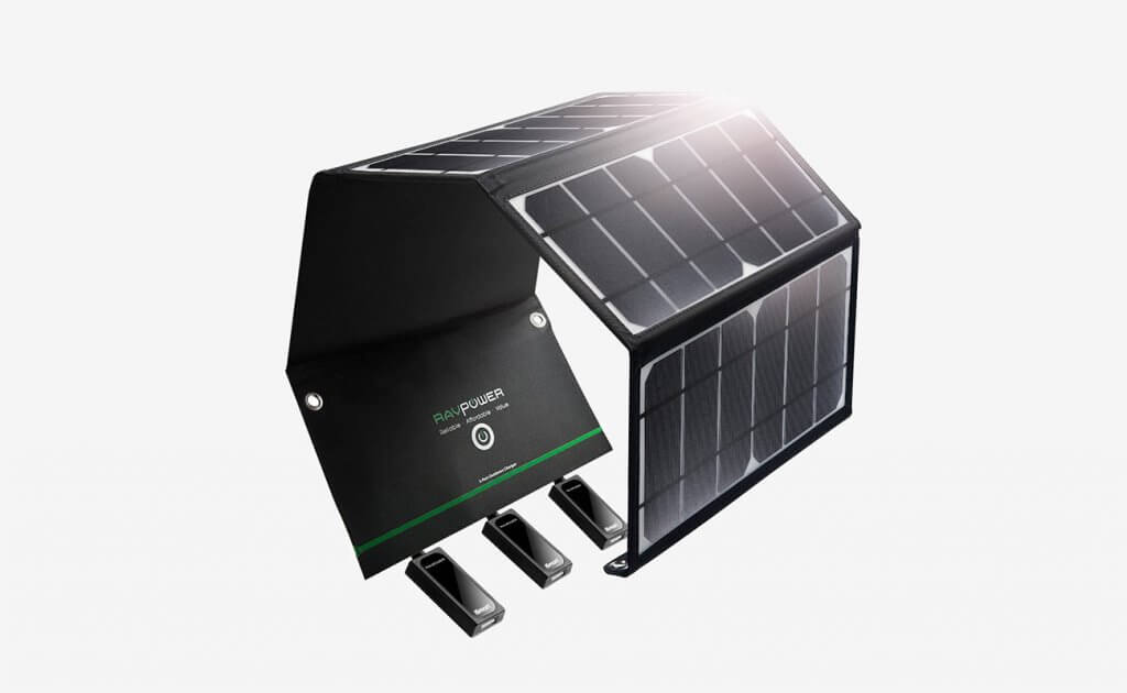 RAVPower 24-Watt Solar Charger