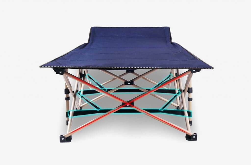 REDCAMP Heavy Duty Folding Camping Cot