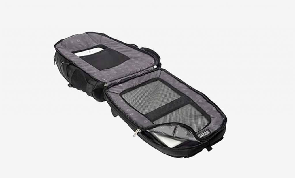 SwissGear Travel Gear 1900 Scansmart Travel Backpack Open