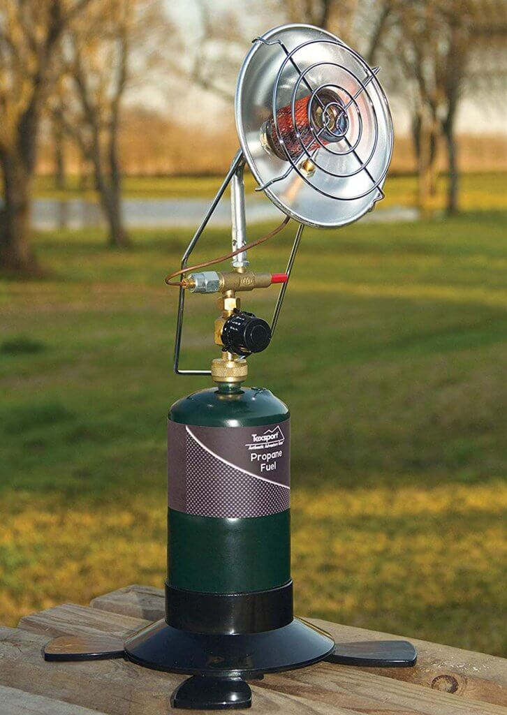 TEXSPORT Portable Outdoor Propane Heater Outdoors