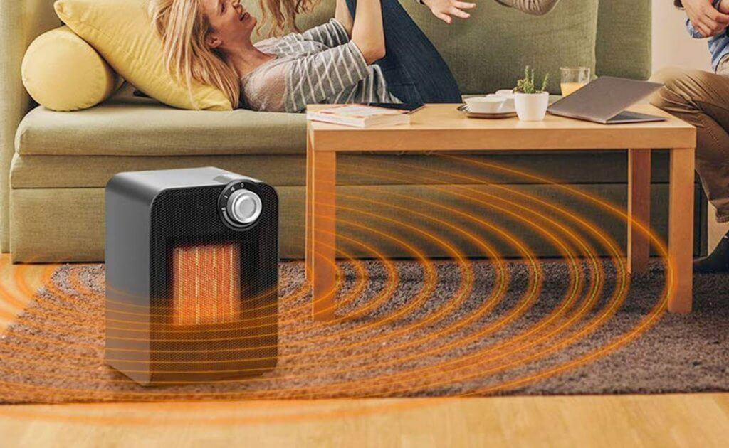 TRUSTECH Portable Ceramic Space Heater 1500W
