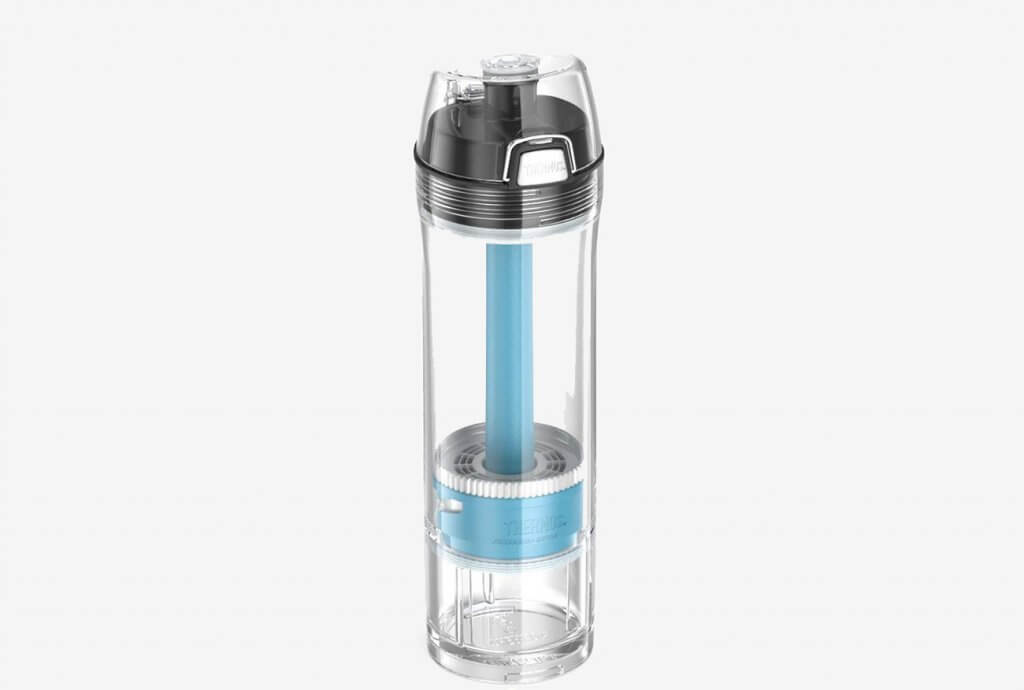 Thermos NSFANSI 53 Certified 22 Ounce Tritan Water Filtration Bottle