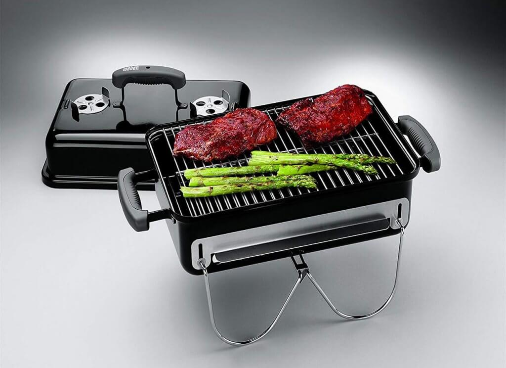 Meat on the Weber 121020 Go-Anywhere Charcoal Grill