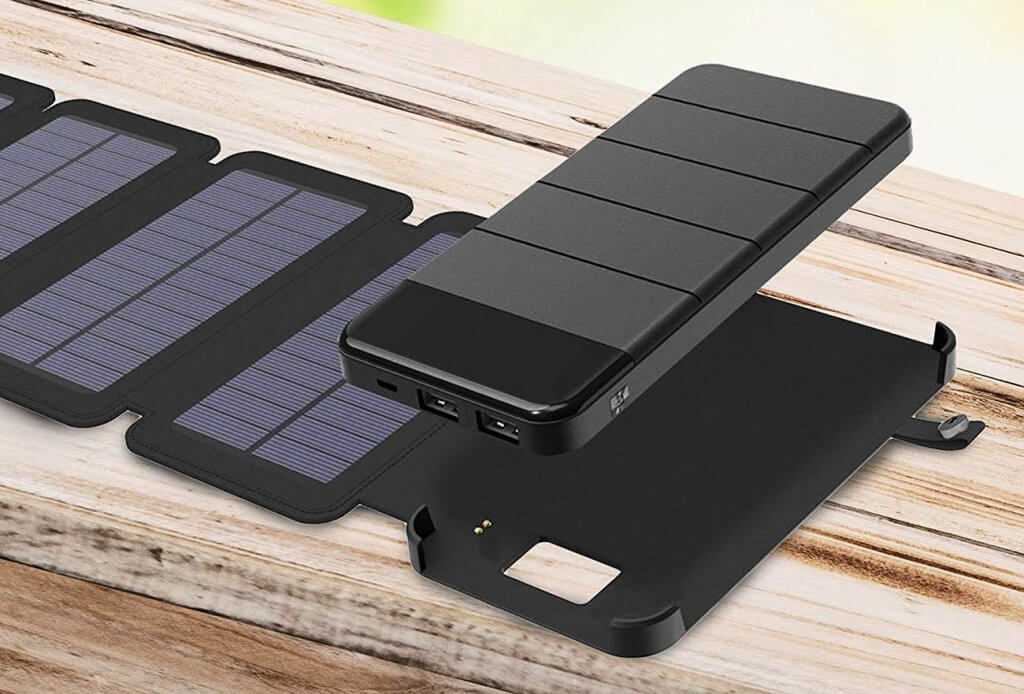 iBose Solar Phone Charger and power bank