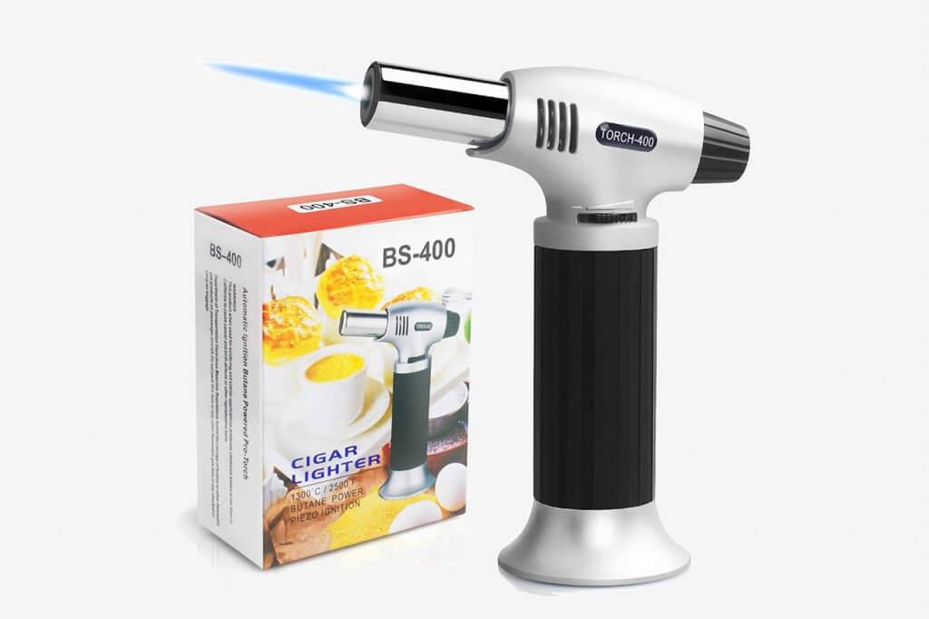 Authenzo BS-400 Kitchen Butane Torch Lighter