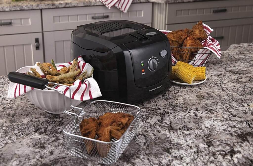 Hamilton Beach deep fryer in the kitchen