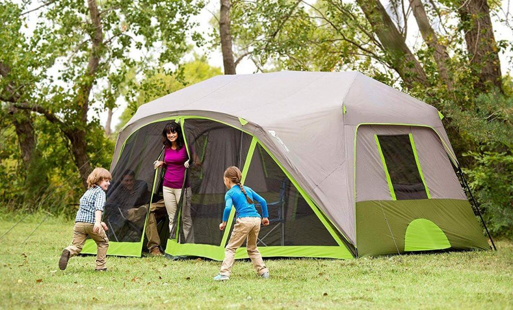 A Family Tent used on a weekend camping trip