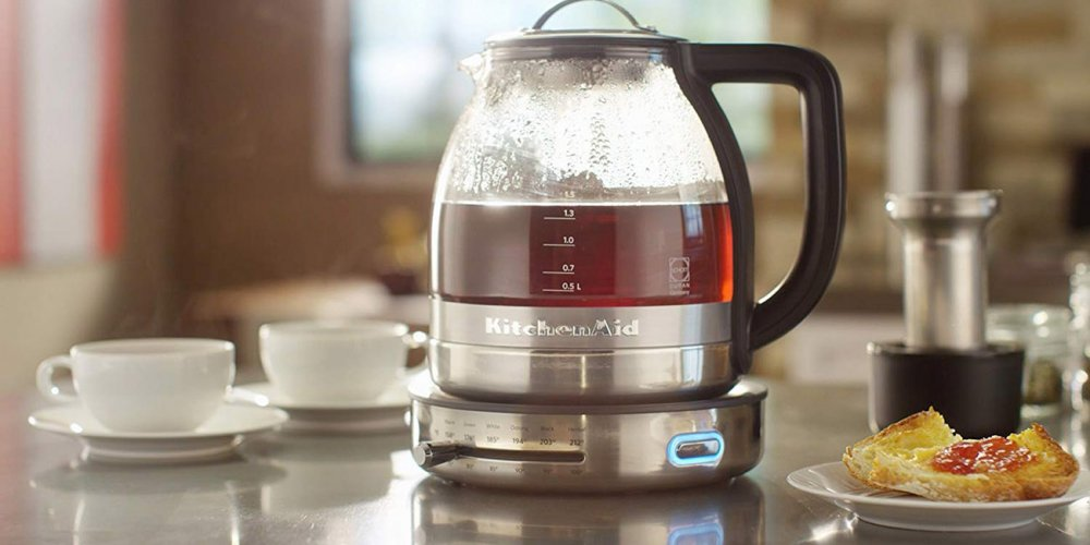 Brewed tea in a Tea Maker