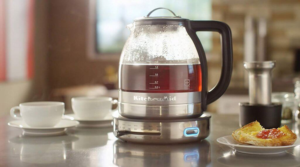 Brewed tea in a Tea Maker