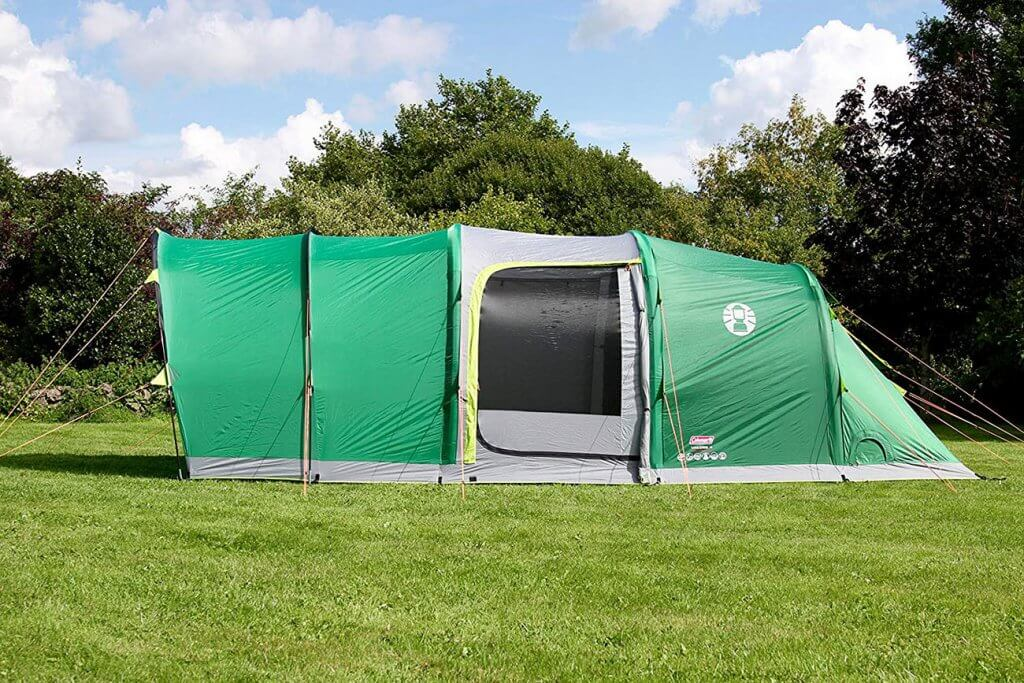 Coleman Valdes Inflatable 4-Person Tent side view