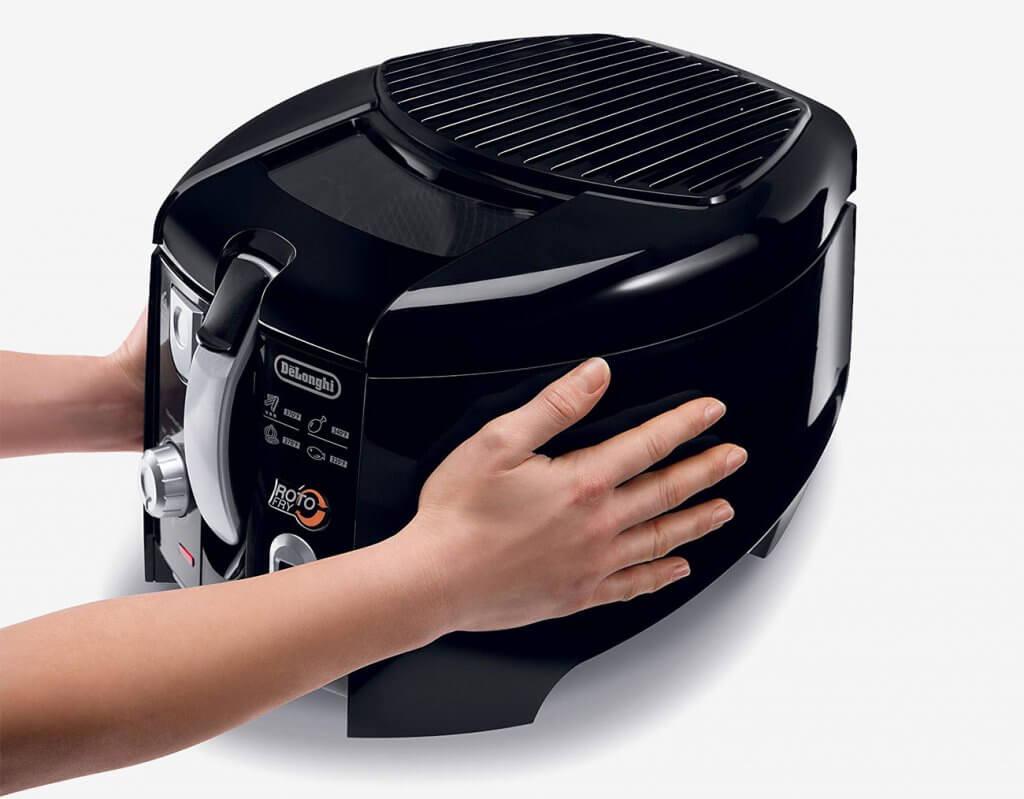 DeLonghi D28313UXBK Roto Deep Fryer