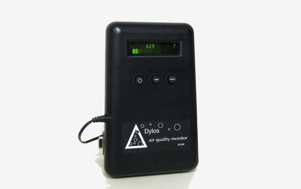 Dylos DC1100HM Pro Air Quality Monitor