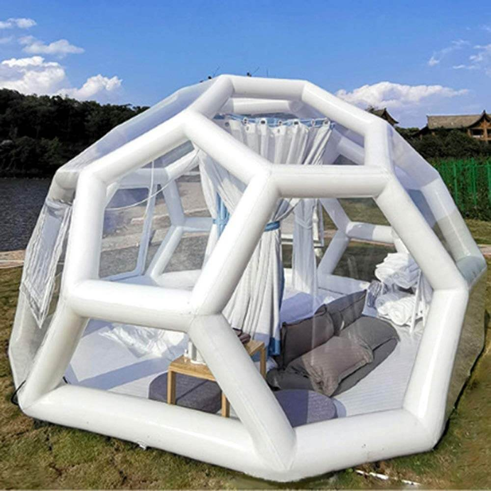 FoamMaker Geodesic Bubble House Inflatable Tent