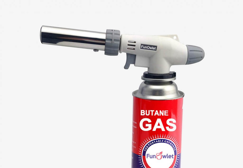 FunOwlet Butane Torch Kitchen Blow Lighter