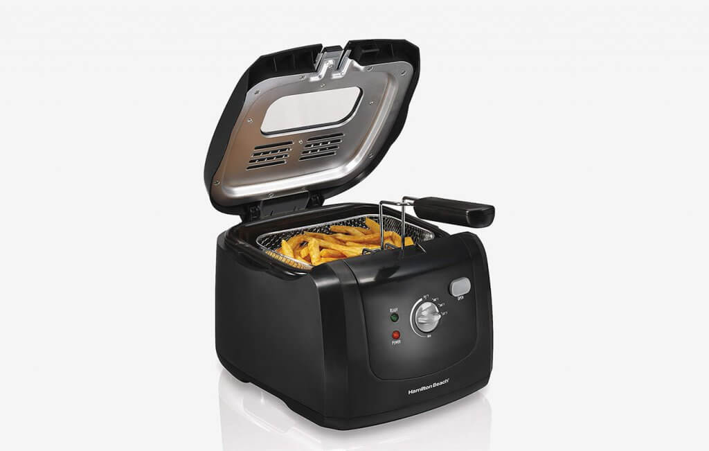 Hamilton Beach 35021 Cool-Touch Deep Fryer