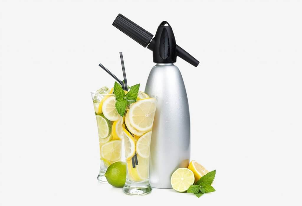Impeccable Culinary Objects (ICO) Soda Siphon