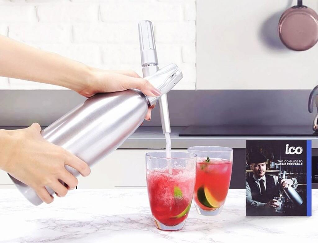Impeccable Culinary Objects (ICO) Soda Siphon in the kitchen