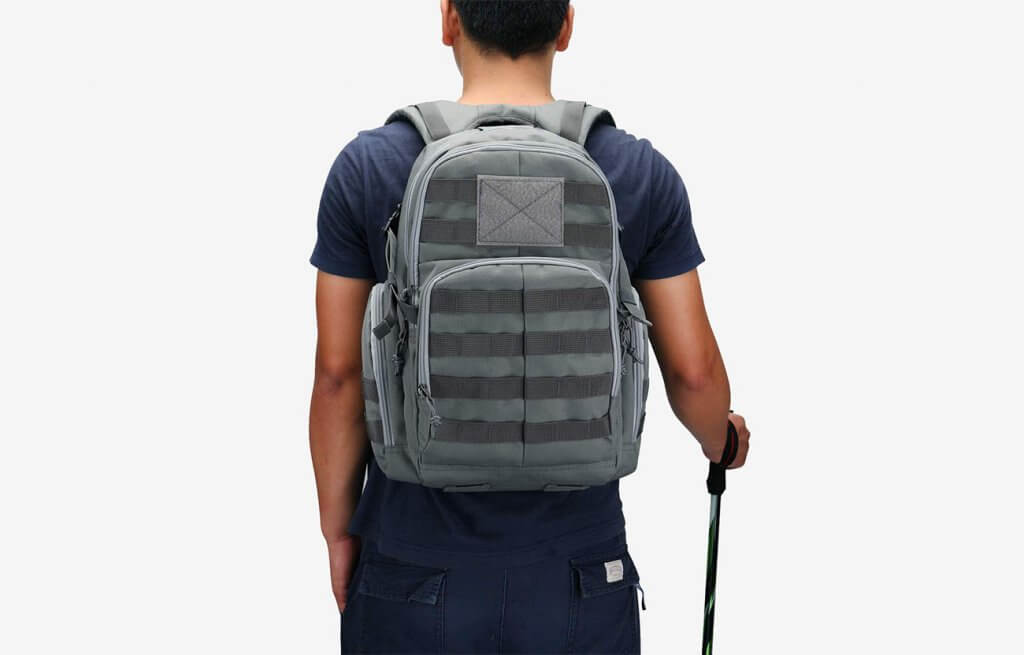 Mardingtop 25 Liter Tactical Backpack worn by hiker