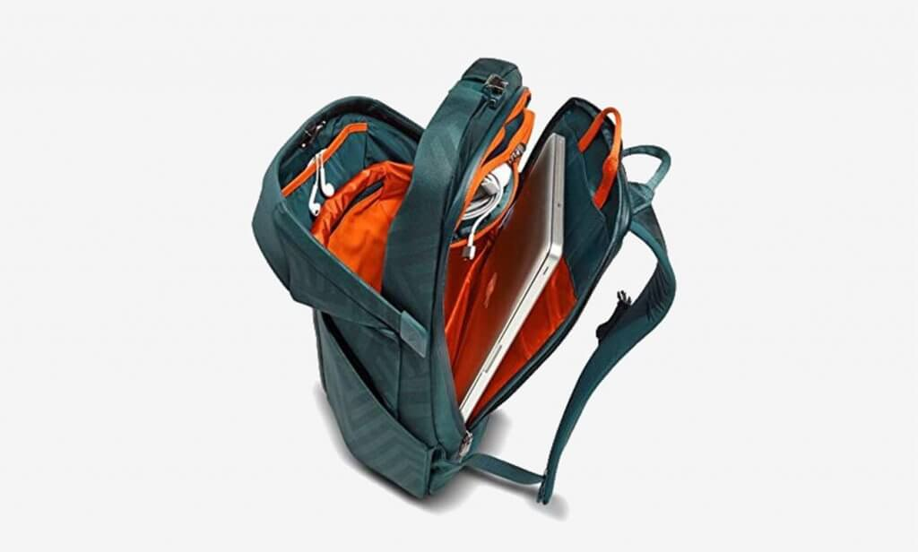 North Face Access Pack with open compartments