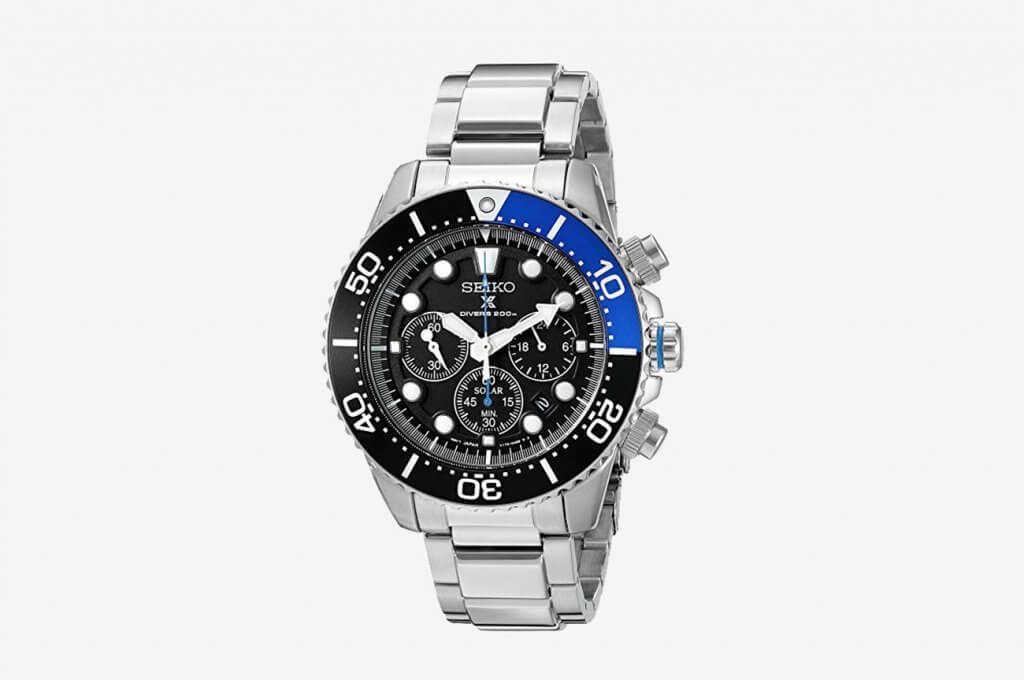 Seiko Men's Prospex Analog Solar Dive Watch