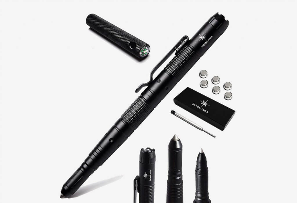 Tactical Tools Self Defense Tactical Pen With Accessories Package