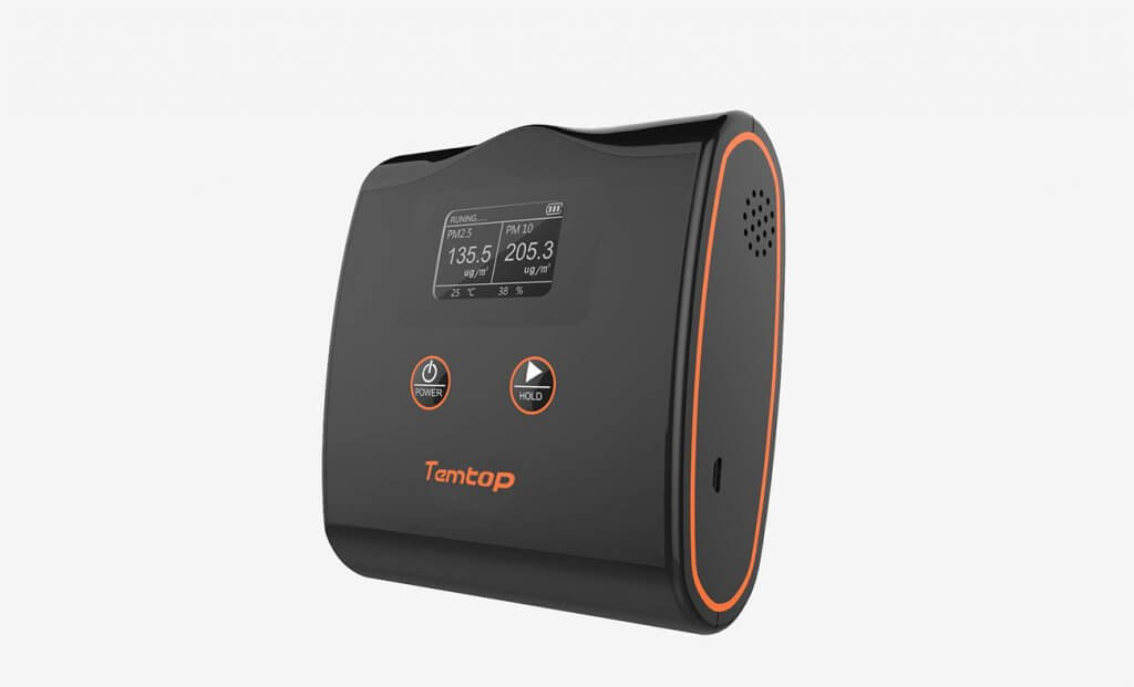 Temtop LKC-20T High Accuracy Air Quality Monitor