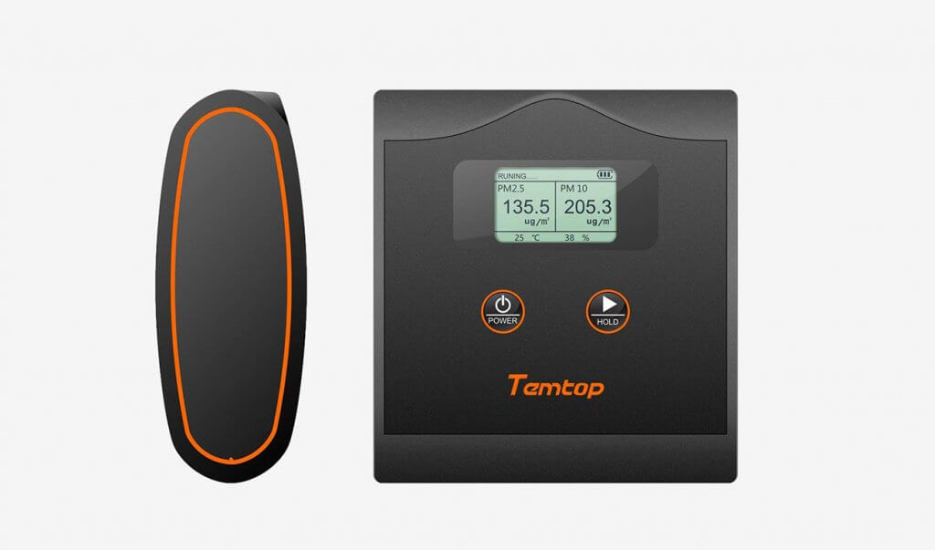 Temtop LKC-20T High Accuracy Air Quality Monitor
