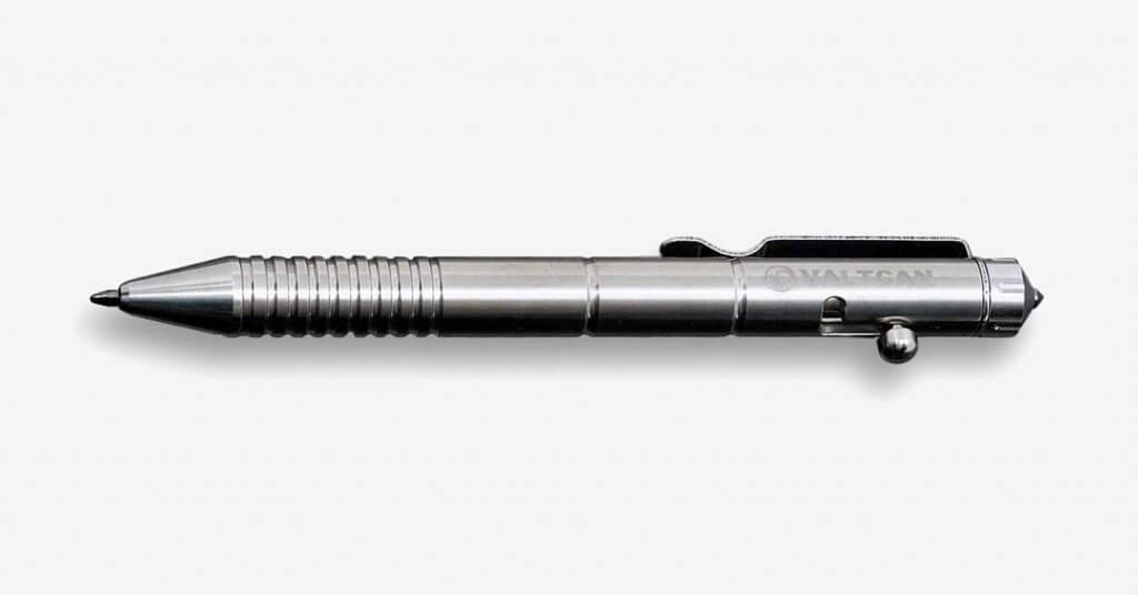 Valtcan Titanium Bolt Tactical Pen