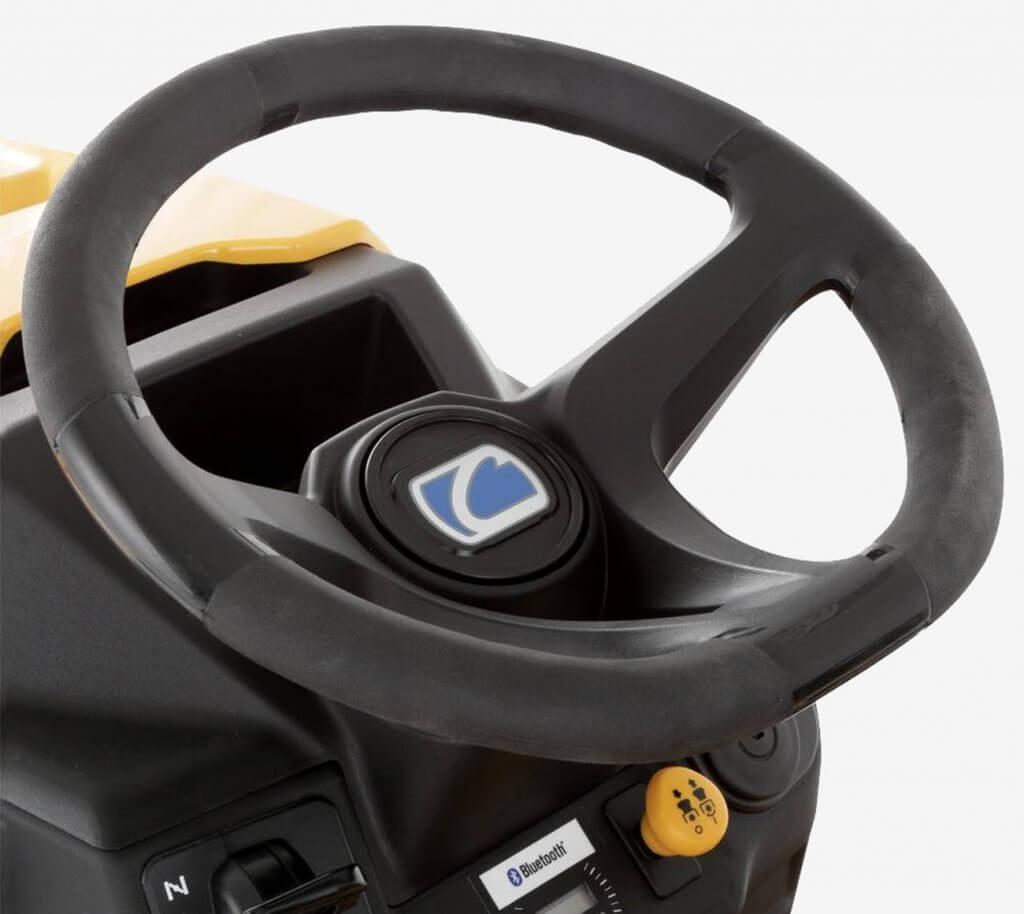 Cub Cadet LT46 Enduro Riding Lawnmower streering wheel