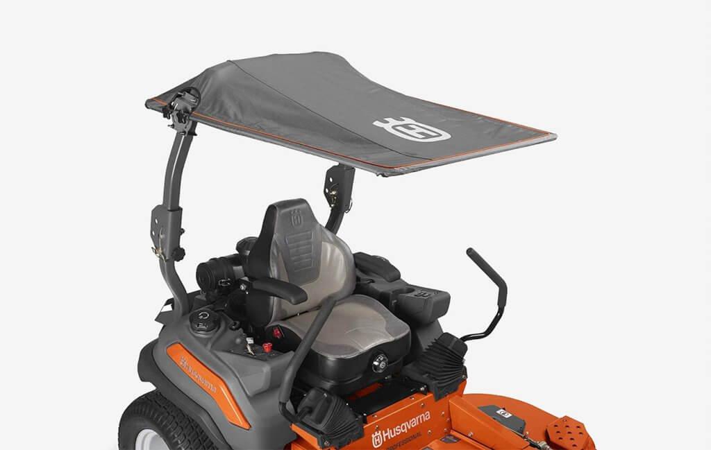 Husqvarna MZ61 Zero Turn Riding Lawnmower roof