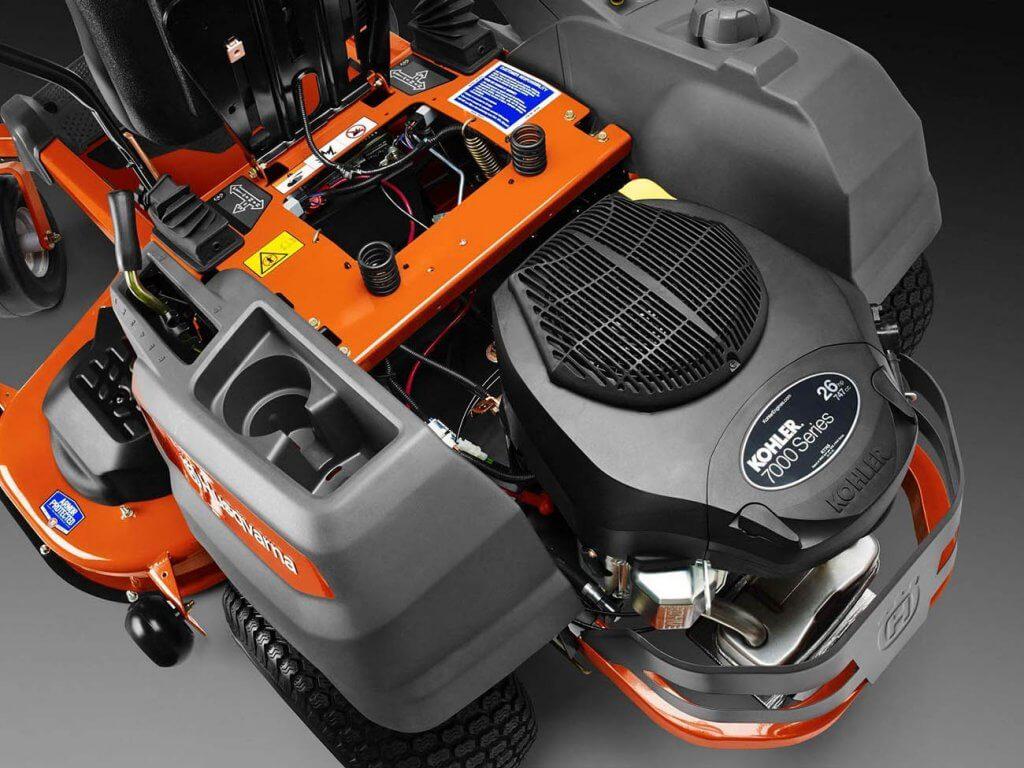 Husqvarna Z254 Zero Turn Riding Lawnmower engine