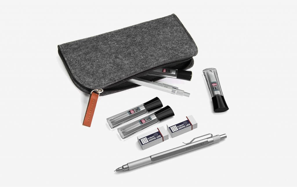 Nicpro Mechanical Pencils Graph Set and bag