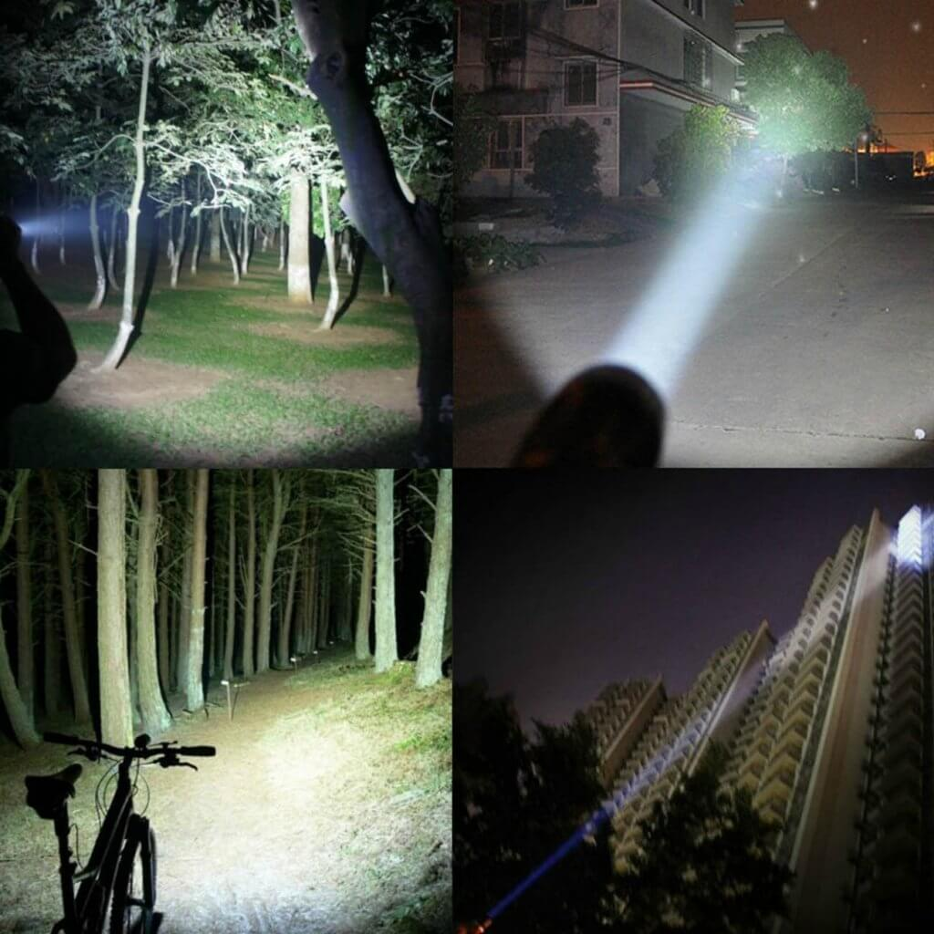 PeakPlus LFX1000 range at night