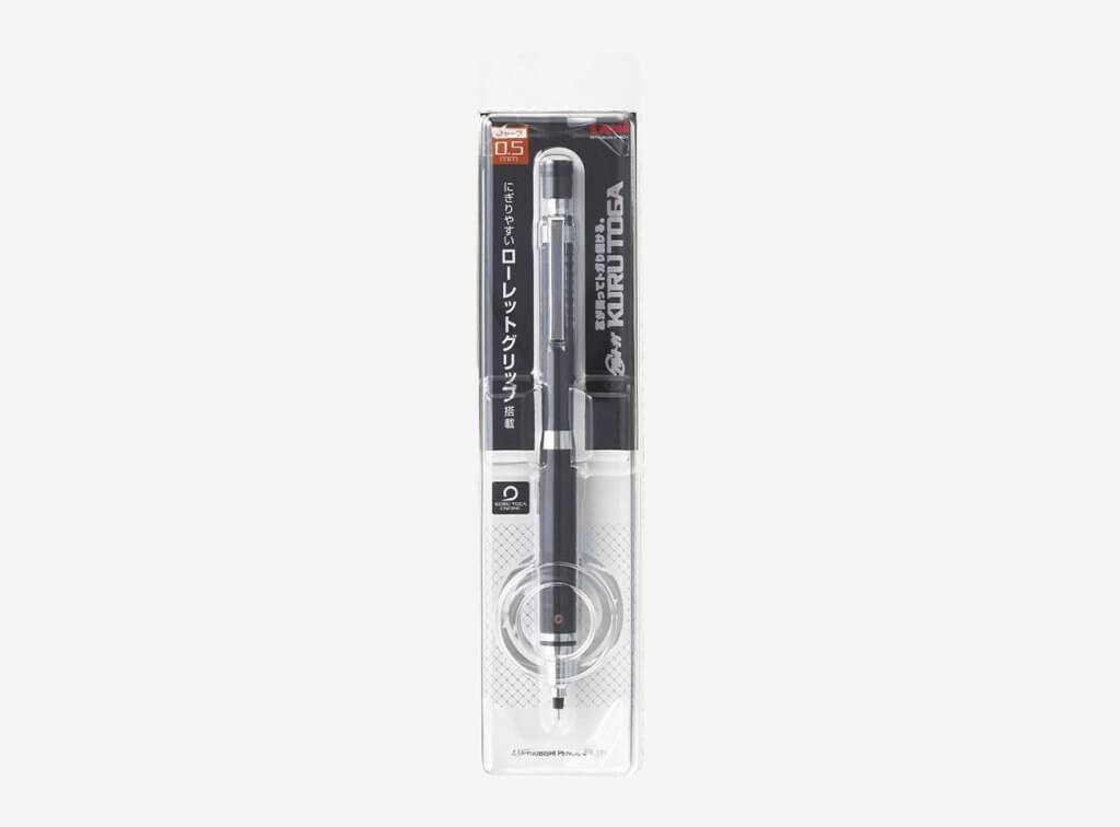 Uni Core Keeps Sharp Mechanical Pencil in packaging
