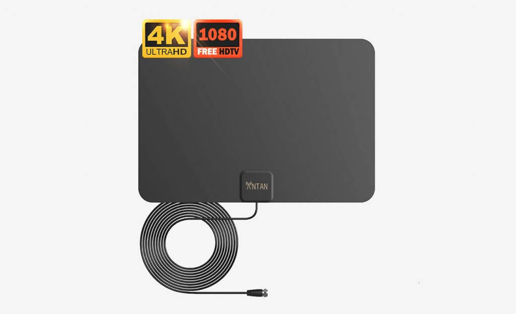 ANTAN Indoor Window HDTV Antenna With 35-45 Miles Range