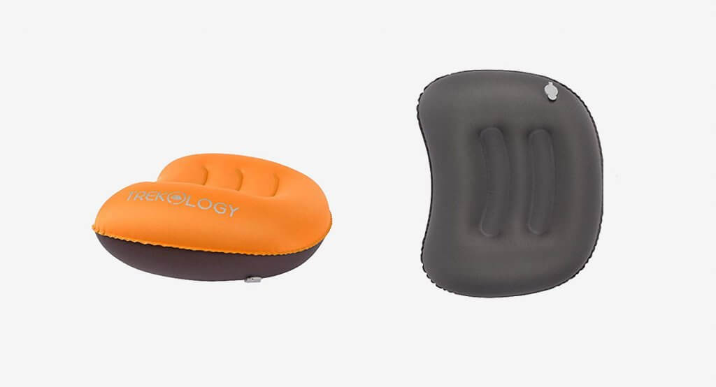 Aluft Ultralight Inflating Travel and Camping Pillow by TREKOLOGY