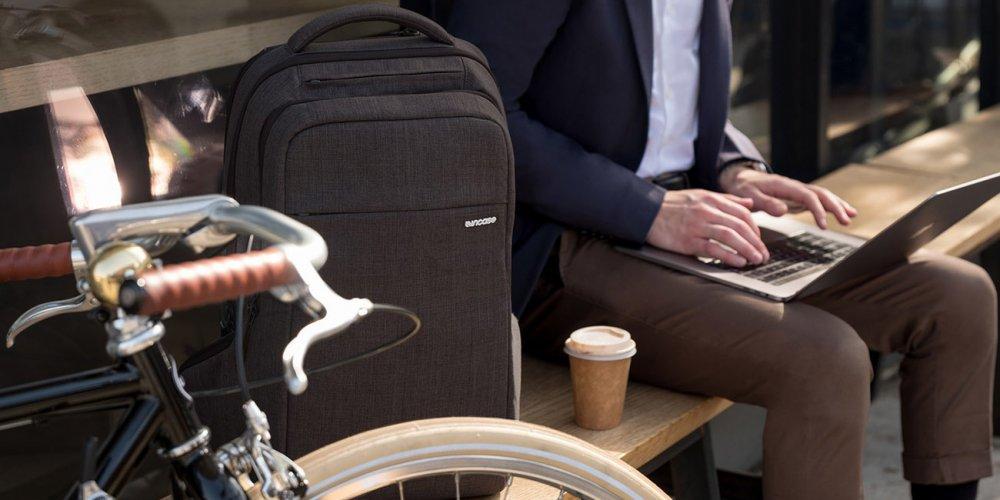 Cycling Backpack and bike