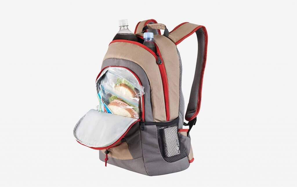 Coleman C003 Soft Backpack Cooler and lunch