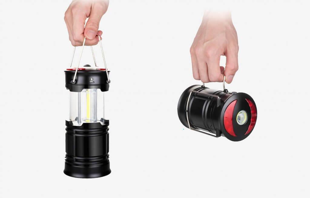 EZORKAS 2 Pack LED Camping Lanterns