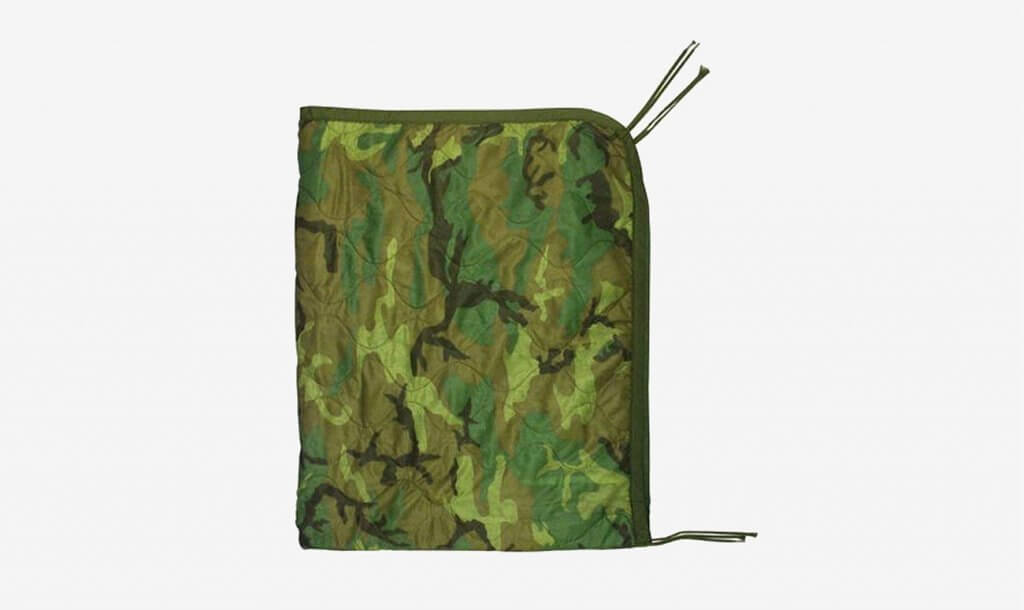 Genuine US Military All Weather Poncho Liner Blanket