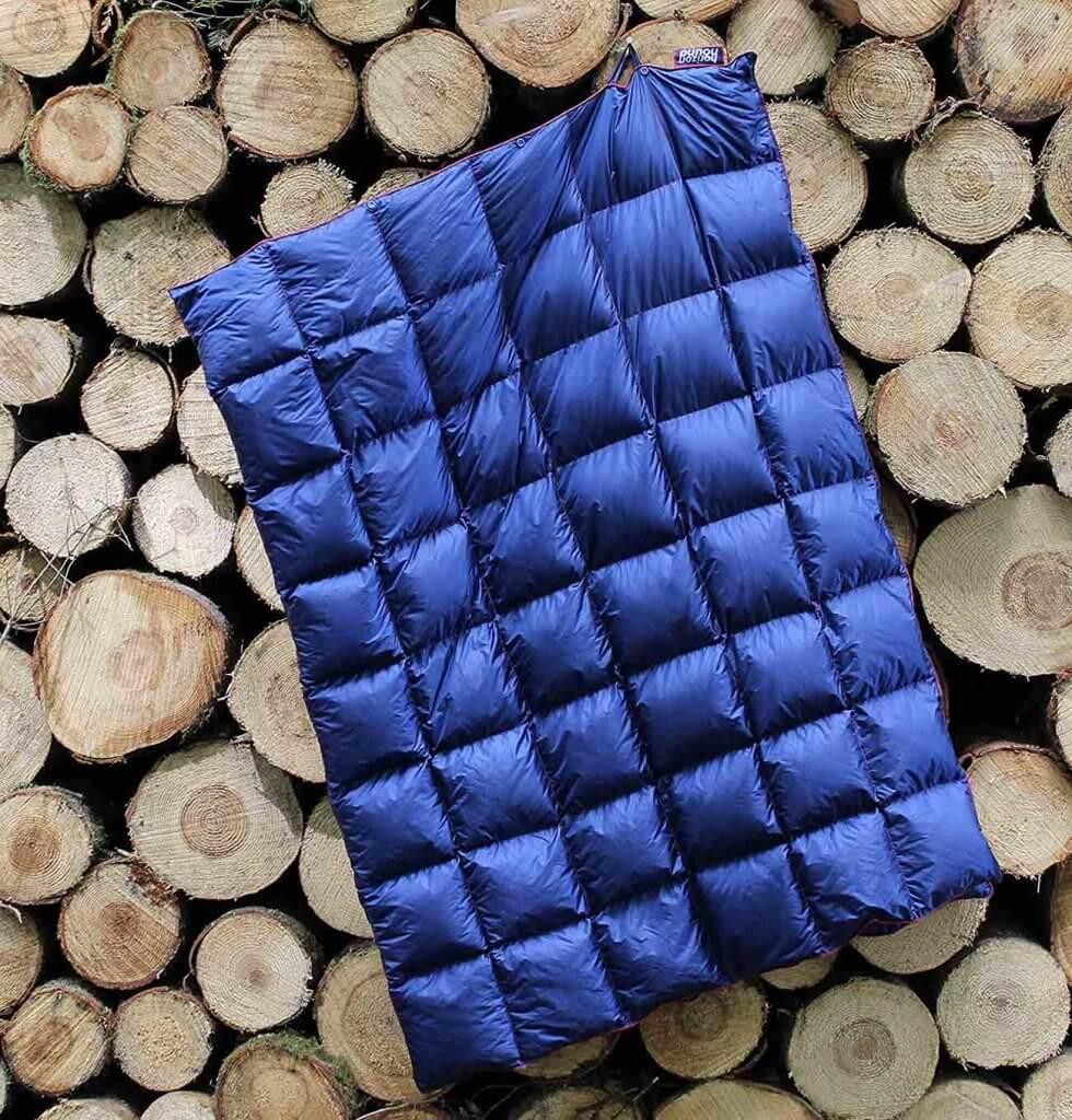 Horizon Hound Down Camping Blanket outdoors