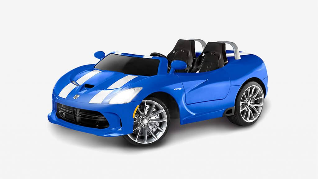 Kid Trax Dodge Viper SRT Ride-On 12-Volt Toy