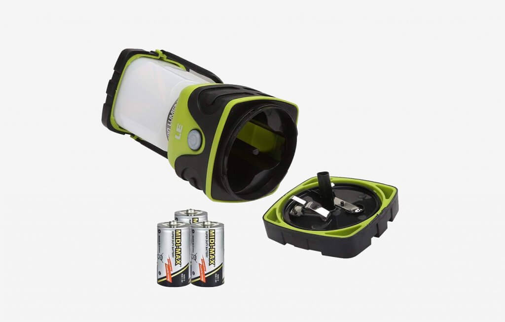 LE LED Battery Powered Camping Lantern 2 Pack
