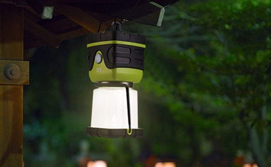 LE LED Battery Powered Camping Lantern