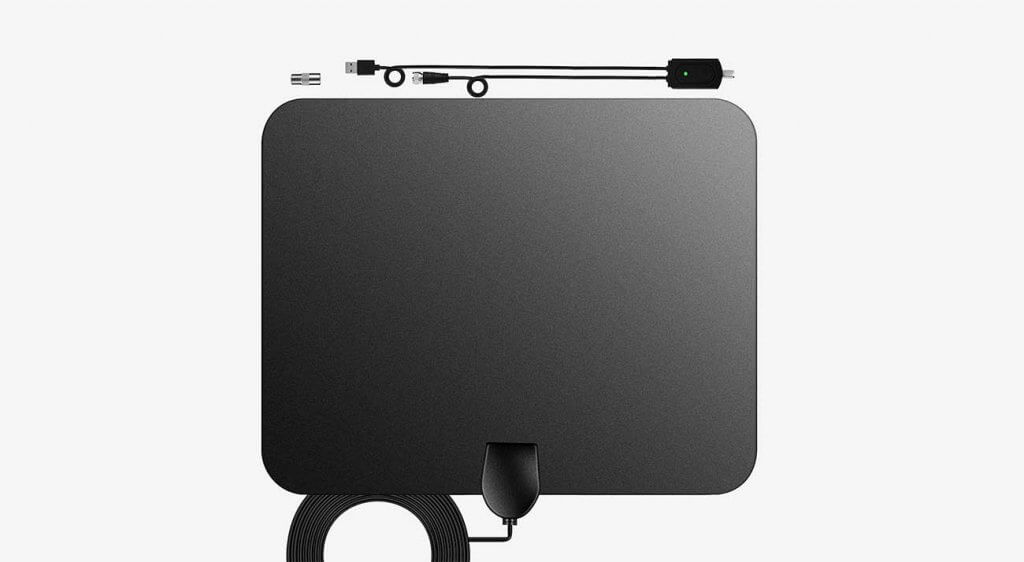 NCVI HDTV Indoor Digital HDTV Antenna With Amplifier Signal Booster